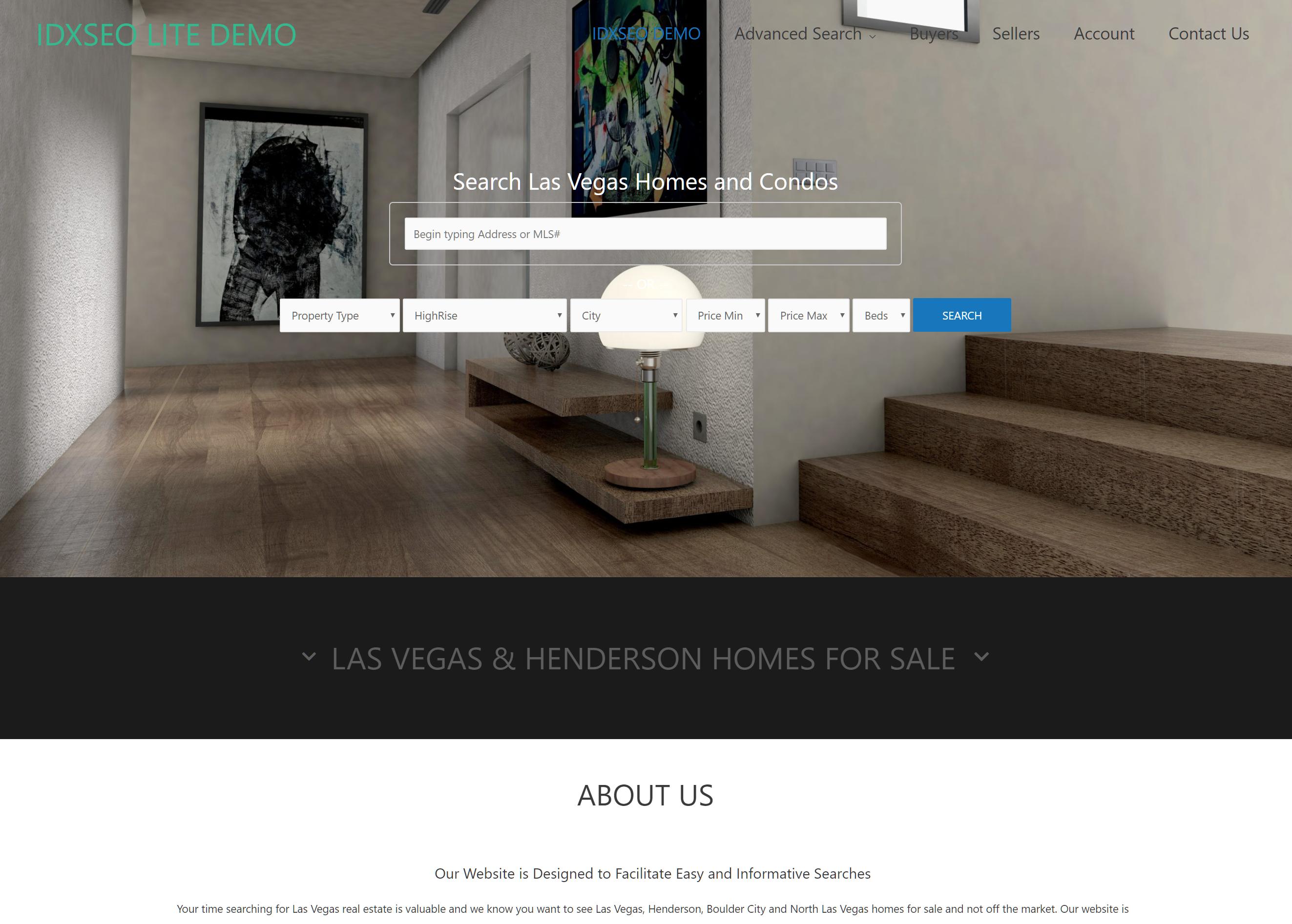 Home Page IDXSEO LITE