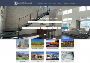 Luxury Realty Group Home Page